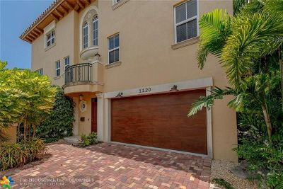 Fort Lauderdale Condo/Townhouse For Sale: 1120 NE 4th St #1120