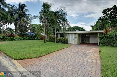Fort Lauderdale Single Family Home Backup Contract-Call LA: 1609 NE 16th Ter