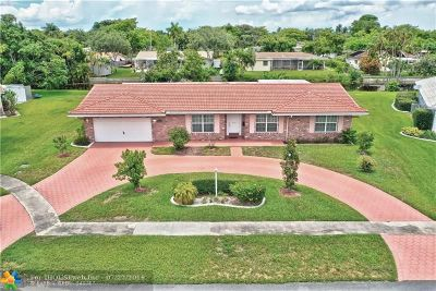 Plantation Single Family Home For Sale: 6201 SW 6th Ct