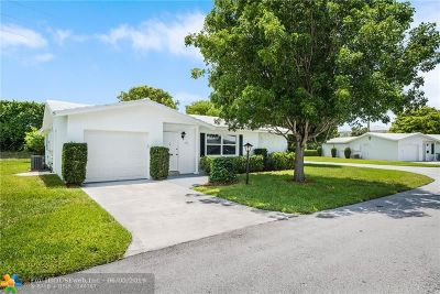 Boynton Beach Single Family Home For Sale: 602 SW 8th Place