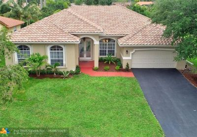 Coral Springs Single Family Home For Sale: 9761 NW 47th Dr