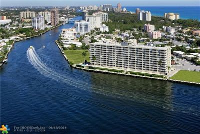 Fort Lauderdale Condo/Townhouse For Sale: 511 Bayshore Dr #1011