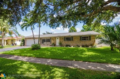 Plantation Single Family Home For Sale: 7421 NW 11 Ct