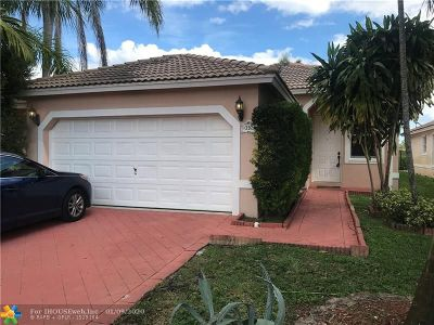 Coral Springs Single Family Home For Sale: 3929 NW 88th Ter