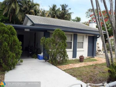 Wilton Manors Single Family Home For Sale: 2710 NE 6th Ln