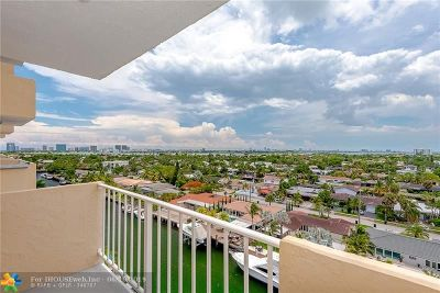 North Miami Condo/Townhouse For Sale: 2350 NE 135th St #1007