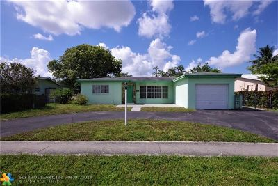 Lauderdale Lakes Single Family Home Backup Contract-Call LA: 4800 NW 39th St