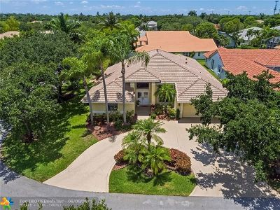 Coral Springs Single Family Home For Sale: 4300 NW 62nd Ter