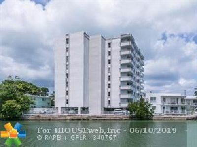 Miami Beach Condo/Townhouse For Sale: 7118 Bonita Dr #901