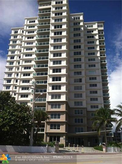 Fort Lauderdale Condo/Townhouse For Sale: 1151 N N.ft.lauderdalbeachblvd #9B