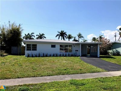 Deerfield Beach Single Family Home For Sale: 920 SE 16th St