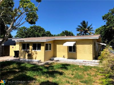Fort Lauderdale Single Family Home For Sale: 1712 NW 7th Ave