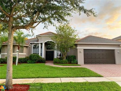 Pembroke Pines Single Family Home For Sale: 13833 NW 15th St