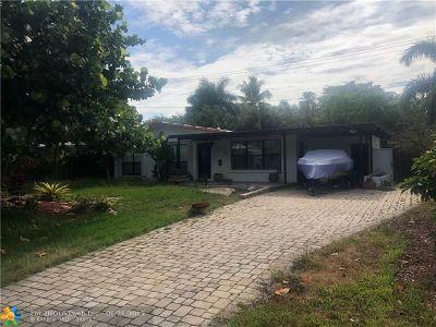 Pompano Beach Single Family Home For Sale: 1210 NE 26th Terrace