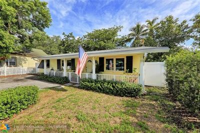 Miami Single Family Home For Sale: 3651 William Ave