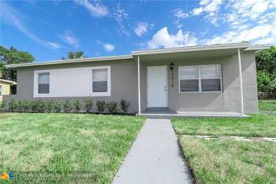 Lauderhill Single Family Home For Sale: 3410 NW 7th Ct