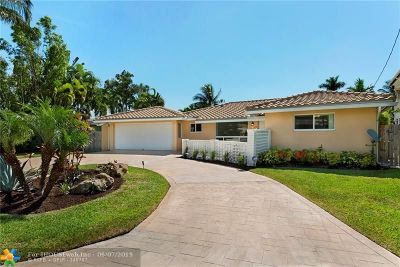 Fort Lauderdale Single Family Home For Sale: 334 Isle Of Capri Dr