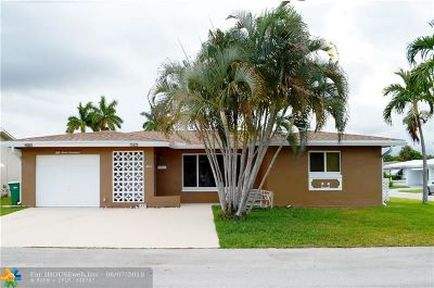 Tamarac Single Family Home For Sale: 5717 NW 48th Ave