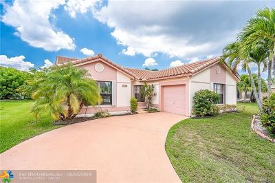 Tamarac Single Family Home For Sale: 7019 NW 108th Ave