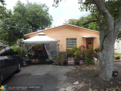 Hollywood Multi Family Home For Sale: 5735 Pierce St