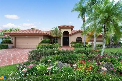 Coral Springs Single Family Home For Sale: 8839 NW 49th Dr