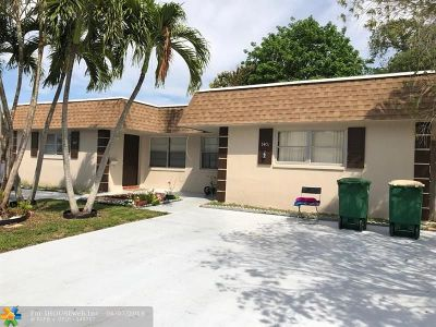 Tamarac Multi Family Home For Sale: 7401 NW 76th Ct