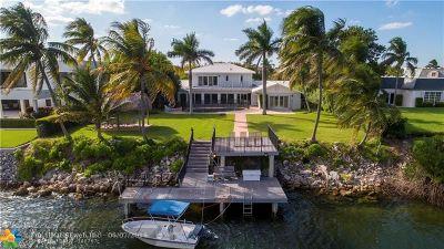 Lighthouse Point Single Family Home For Sale: 4230 NE 31st Ave