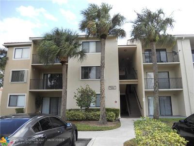 Coral Springs Condo/Townhouse For Sale: 9188 W Atlantic Blvd #1526