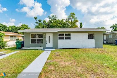 Miramar Single Family Home For Sale: 6839 SW 22nd Ct