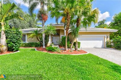 Coral Springs Single Family Home Backup Contract-Call LA: 4364 NW 65th Ter