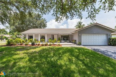 Coral Springs Single Family Home For Sale: 8122 NW 3rd Pl