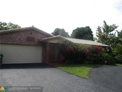 Coral Springs Single Family Home For Sale: 1593 NW 84th Dr