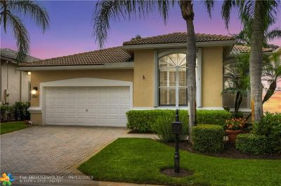 Coral Springs Single Family Home For Sale: 12117 NW 15th Ct