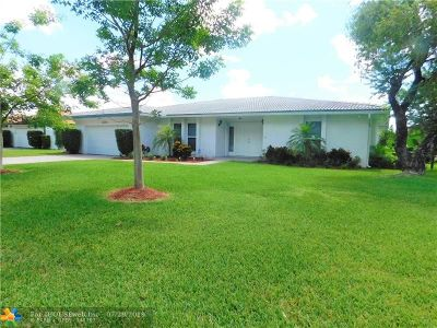 Coral Springs Single Family Home For Sale: 3231 NW 114th Ave