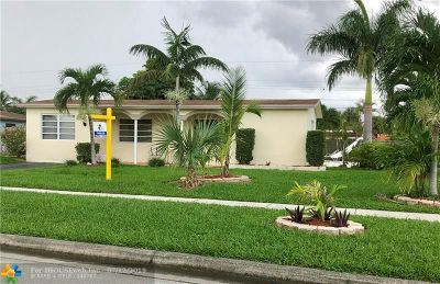 Margate Single Family Home For Sale: 6109 NW 9th Ct