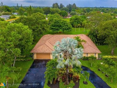 Southwest Ranches Single Family Home Backup Contract-Call LA: 5520 SW 166th Ave