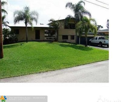 Fort Lauderdale Single Family Home For Sale: 2512 Whale Harbor Ln
