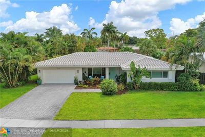 Fort Lauderdale Single Family Home For Sale: 5260 NE 20th Ave