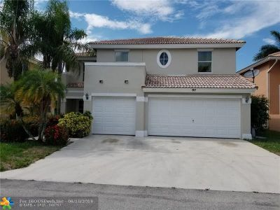 Boynton Beach Single Family Home For Sale: 97 Citrus Park Ln