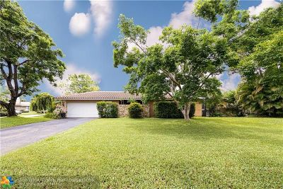Coral Springs Single Family Home For Sale: 311 NW 101st Ter
