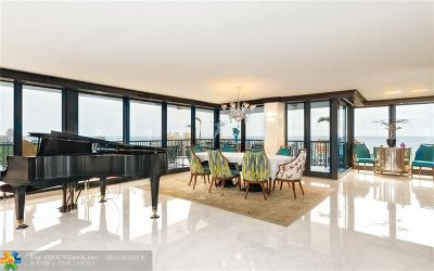 Fort Lauderdale Condo/Townhouse For Sale: 936 Intracoastal Dr #PH1