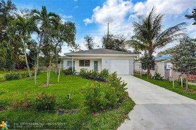 Broward County Single Family Home Backup Contract-Call LA: 2820 NW 9th Pl