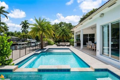 Fort Lauderdale Single Family Home For Sale: 1334 Avocado Isle