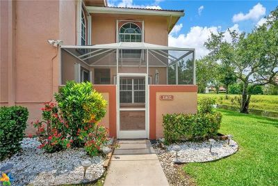 Coral Springs Condo/Townhouse For Sale: 11832 Royal Palm Blvd #11832