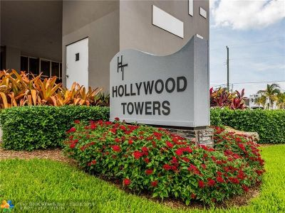 Hollywood Condo/Townhouse For Sale: 3111 N Ocean Dr #402