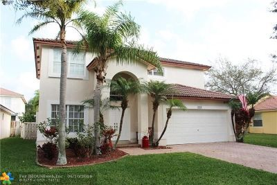 Coral Springs Single Family Home For Sale: 6169 NW 40th St