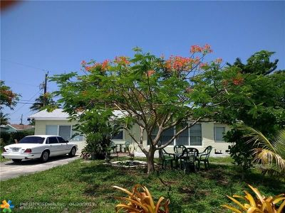 Oakland Park Single Family Home For Sale: 281 NW 48th Ct