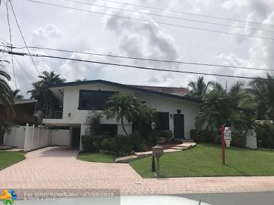 Fort Lauderdale Single Family Home For Sale: 2625 Nassau Ln