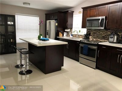 Margate Single Family Home Backup Contract-Call LA: 6643 Skipper Ter