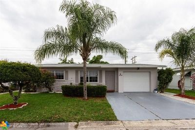 Margate Single Family Home For Sale: 1130 NW 70th Ln